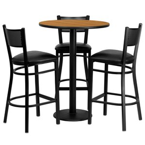 Dipesh 4 Piece Pub Table Set by Red Barrel Studio