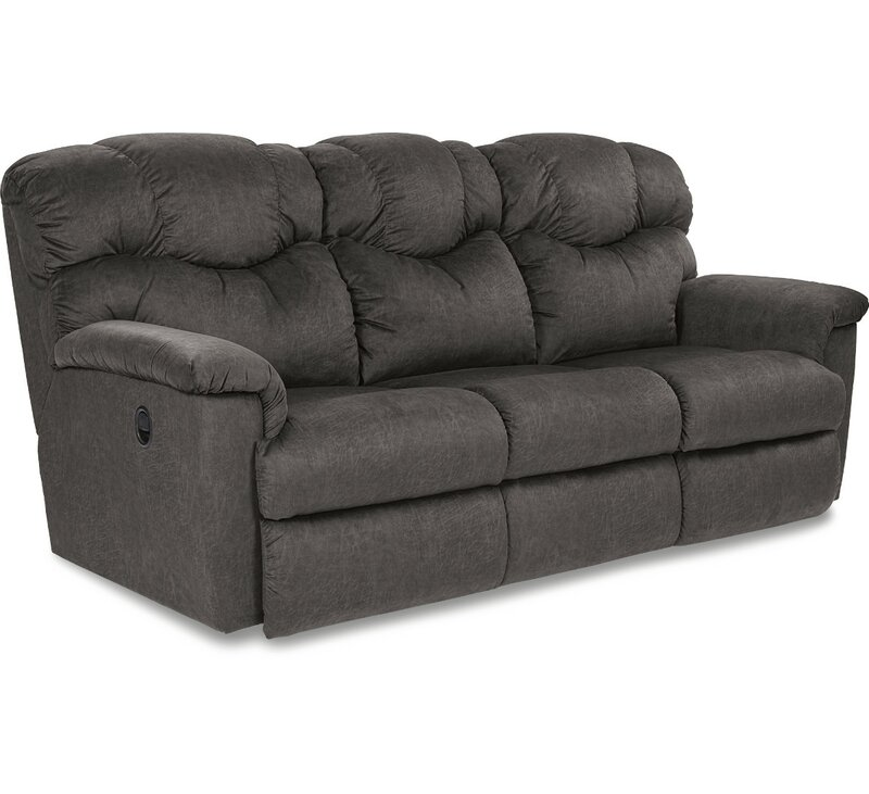 lazy boy lancer reclining sofa reviews review home co. Black Bedroom Furniture Sets. Home Design Ideas