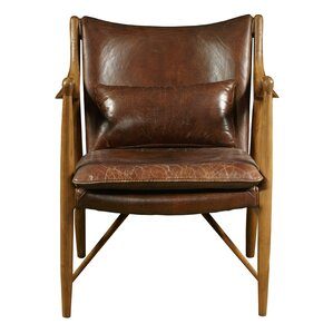 Harmony Leather Armchair by Highway To Home