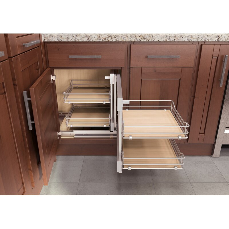 Blind Corner Pull Out | VS COR Flex Scalea Cabinet Organizer