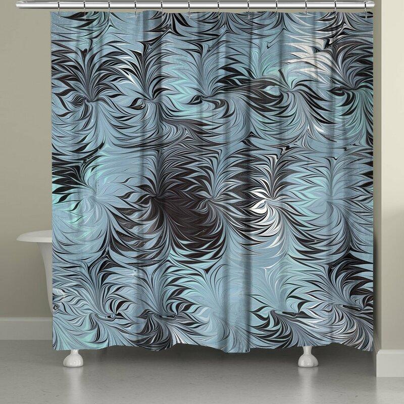 Hartsock Marble Shower Curtain