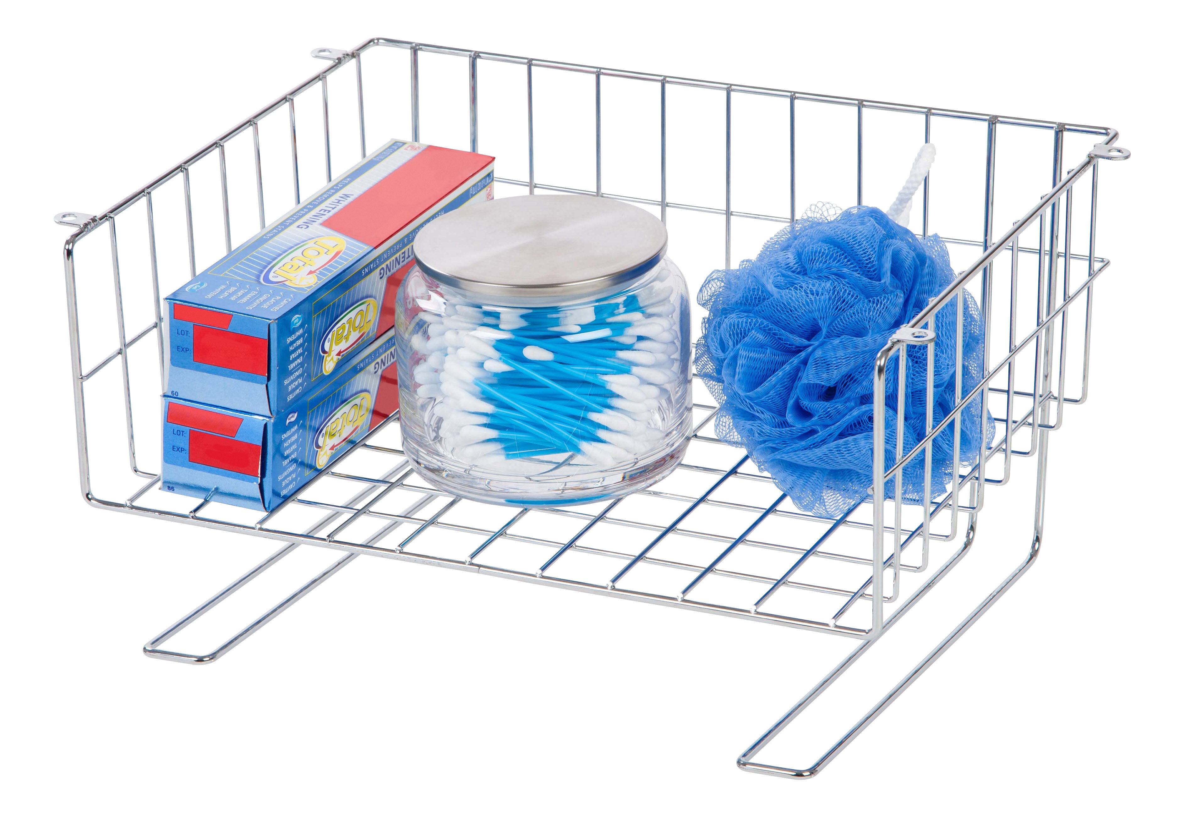IRIS Under Cabinet Mountable Storage Wire Basket | Wayfair
