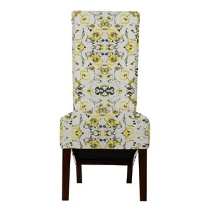 Keyesport Flowers Parsons Chair (Set of 2) by Red Barrel Studio