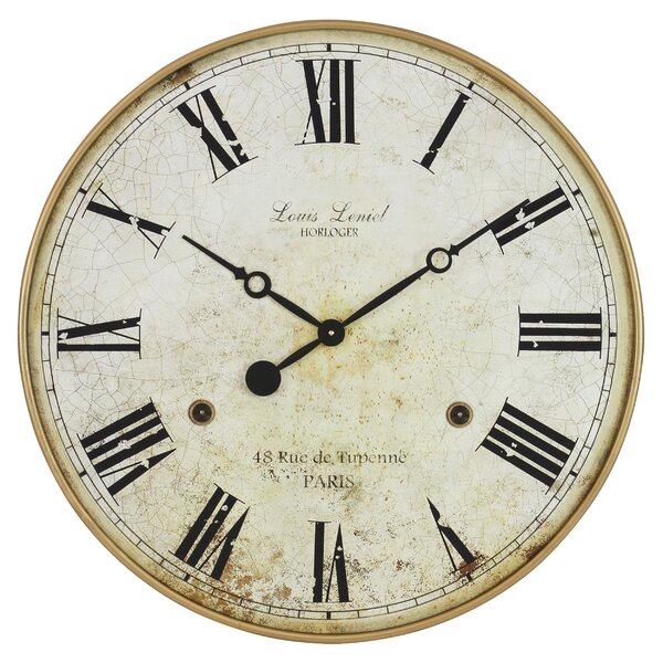 Oversized Wall Clocks You Ll Love Wayfair