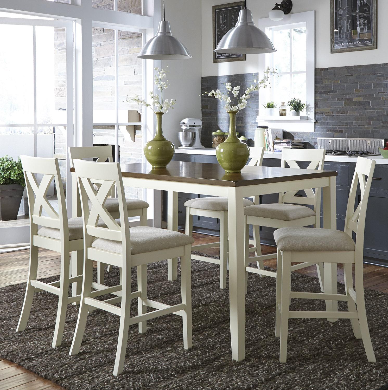 Good Red Barrel Studio Stines 7 Piece Counter Height Breakfast Nook Dining Set U0026  Reviews | Wayfair