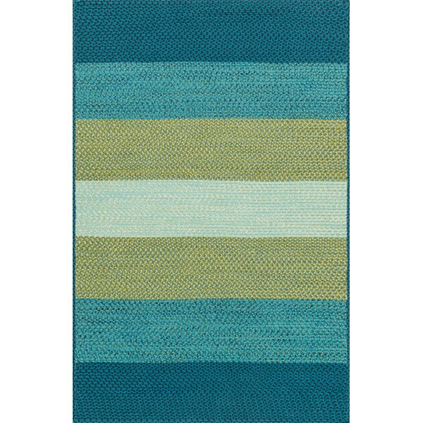 Loloi Rugs Garrett Hand Braided Blue/Green Indoor/Outdoor Area Rug U0026  Reviews | Wayfair