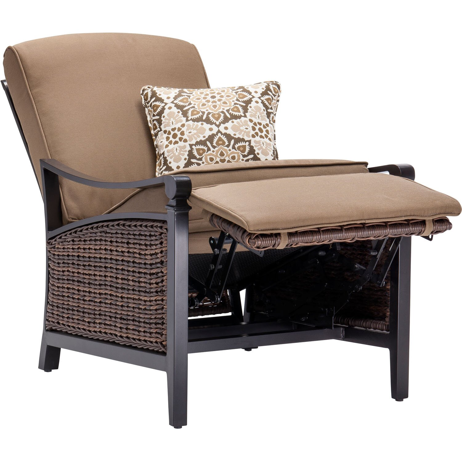 Captivating LaZBoy Carson Luxury Outdoor Recliner Chair With Cushions  Wayfair