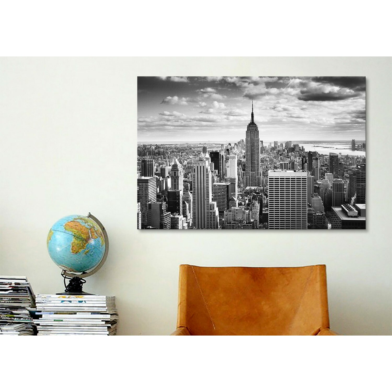 ICanvas New York City Downtown Canvas Wall Art By Nina