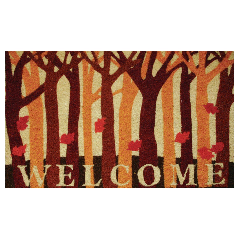 Robert Allen Home And Garden Kareen Fall Woods Doormat Reviews Wayfair