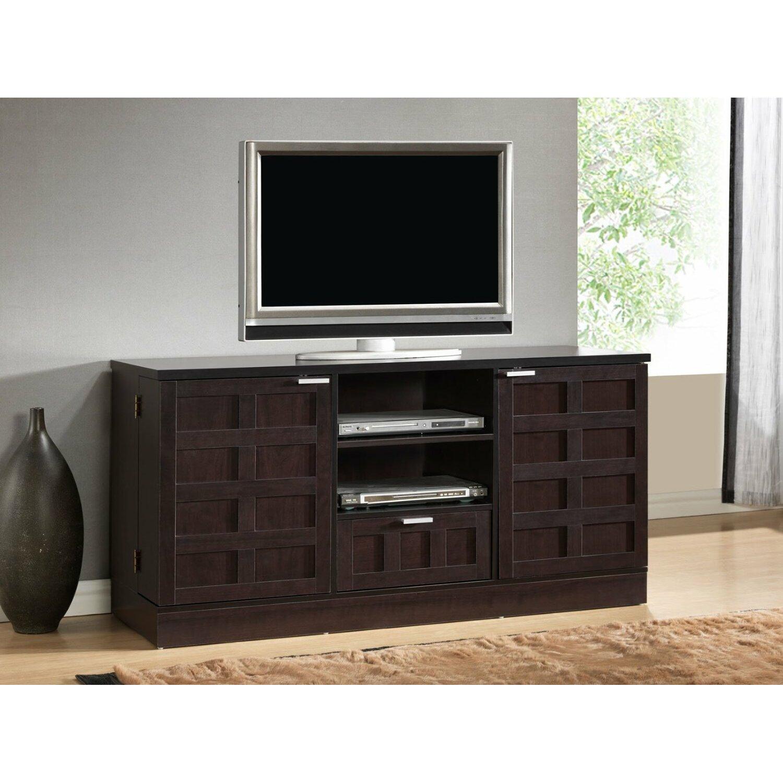 wholesale interiors baxton studio tosato tv stand reviews wayfair. Black Bedroom Furniture Sets. Home Design Ideas