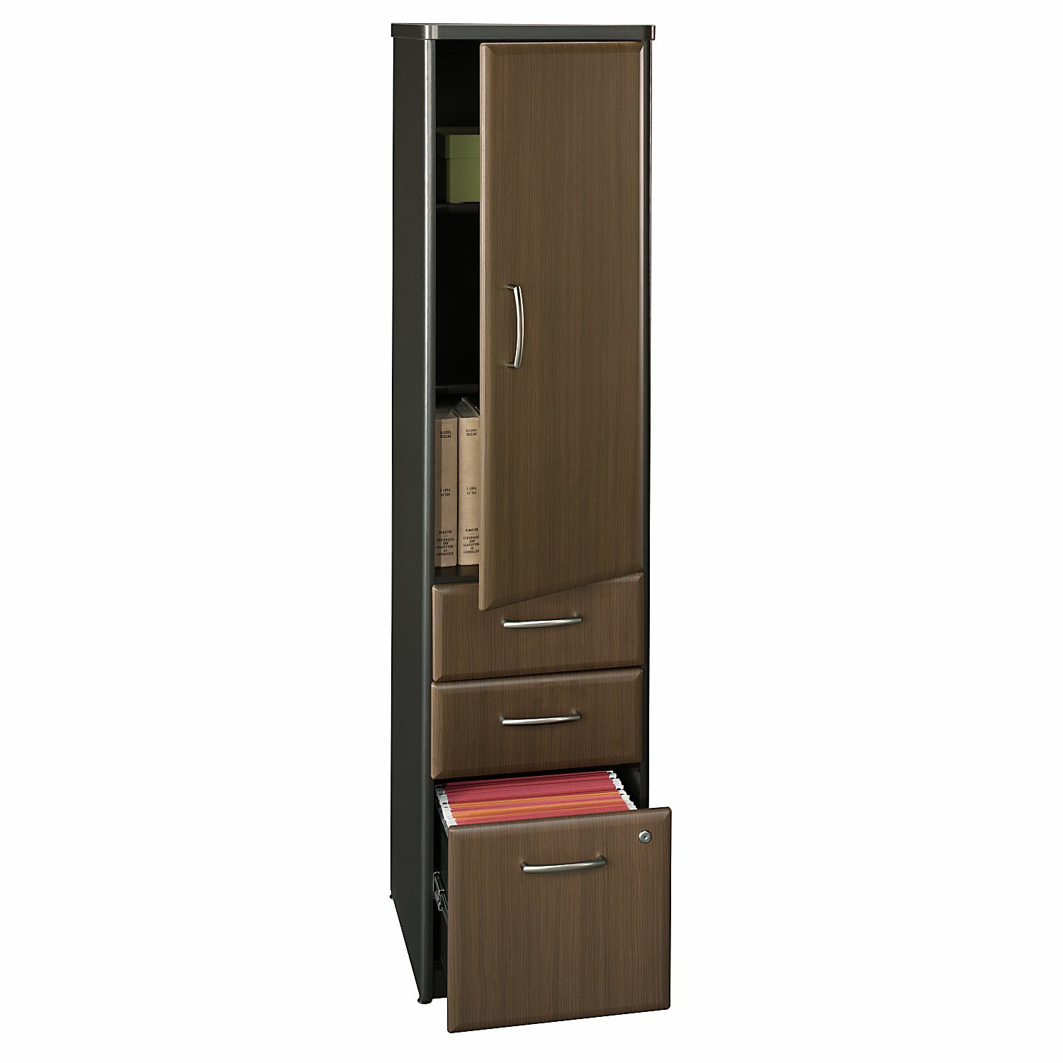 Bush business furniture series a 1 door storage cabinet for 1 door storage cabinet