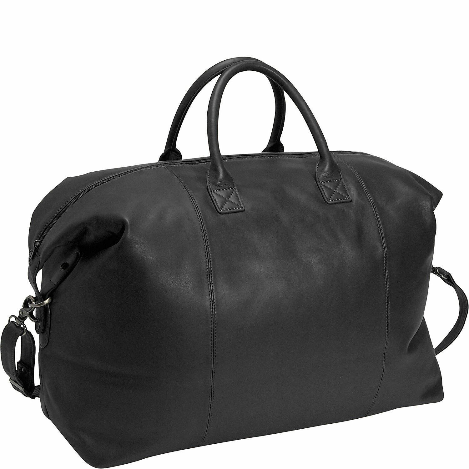 Royce Leather Royce Leather Travel Duffel Overnight Bag in Genuine ...