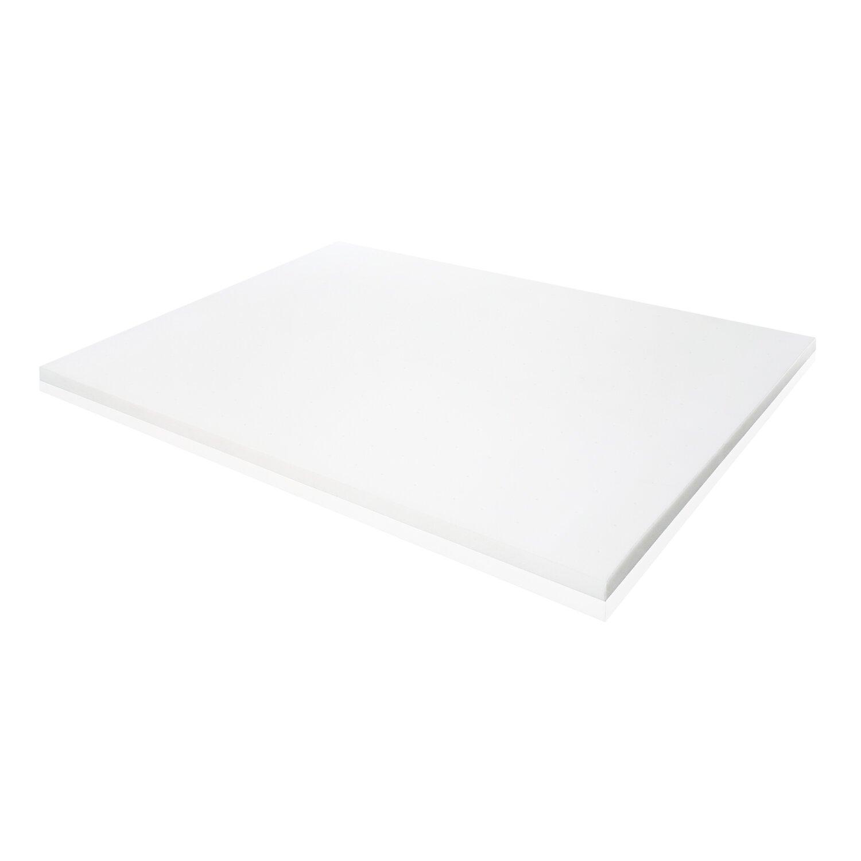 ventilated memory foam mattress topper