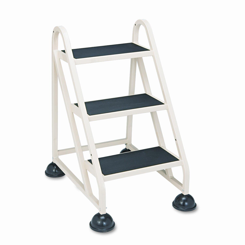 Cramer Industries Inc 3 Step Aluminum Step Stool With 300