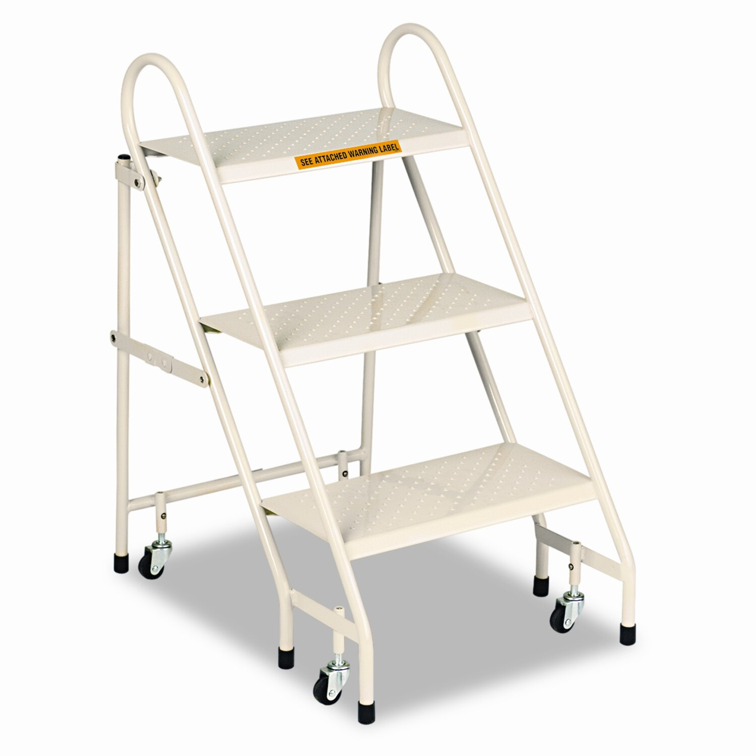 Cramer Industries Inc 3 Step Steel Folding Step Stool