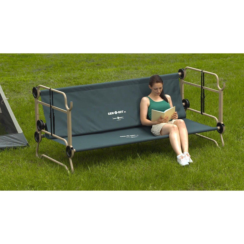 Cam-O-Bunk Bed with 2 Organizer Leg Extension - Disco Bed Cam-O-Bunk Bed With 2 Organizer Leg Extension Wayfair