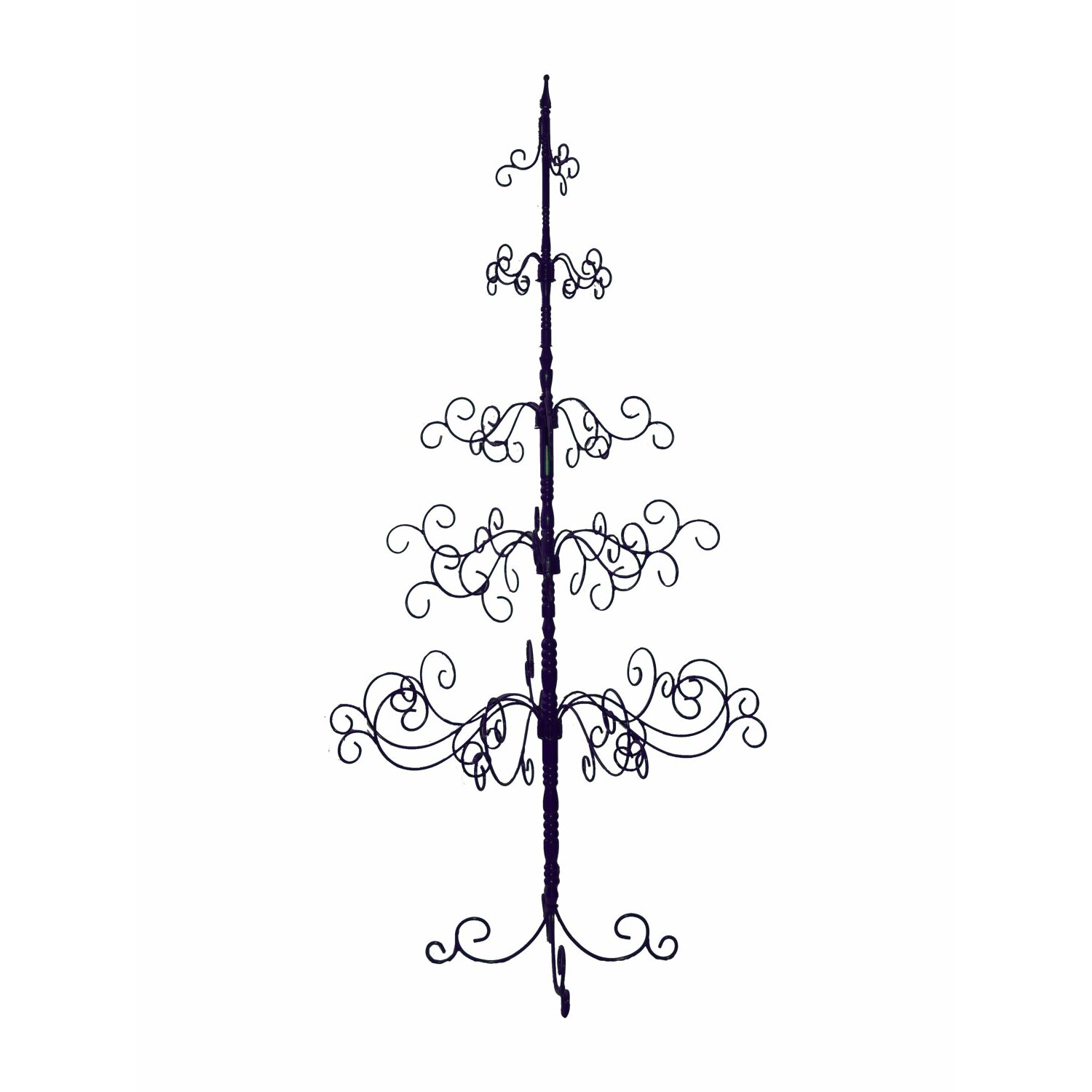 Black Artificial Christmas Trees: Patch Magic 7' Black Artificial Christmas Tree & Reviews