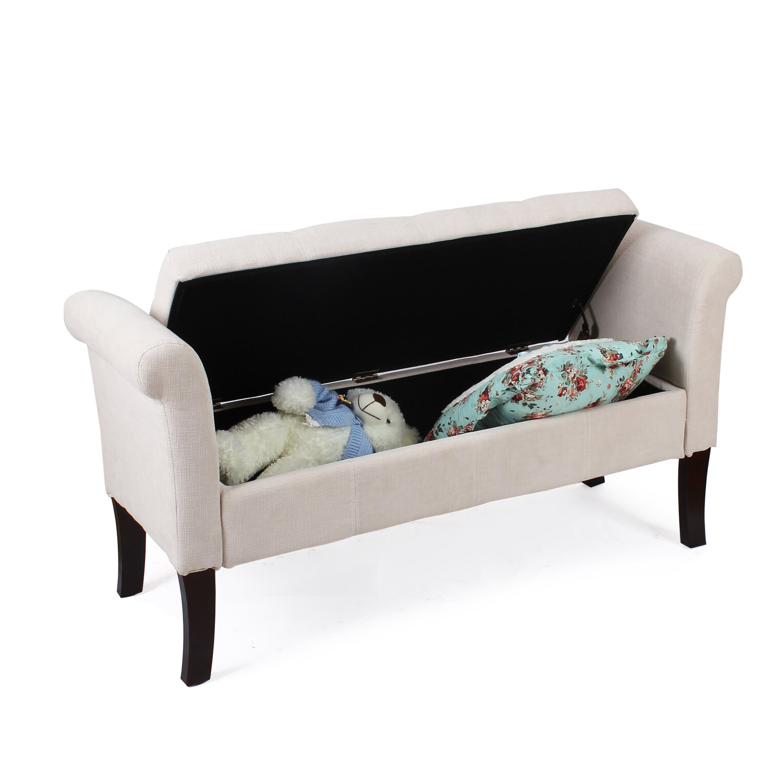 AdecoTrading Storage Bedroom Bench & Reviews