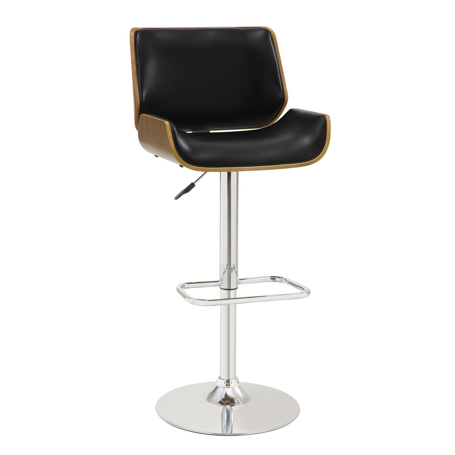 Mercury Row Sabella Adjustable Height Swivel Bar Stool