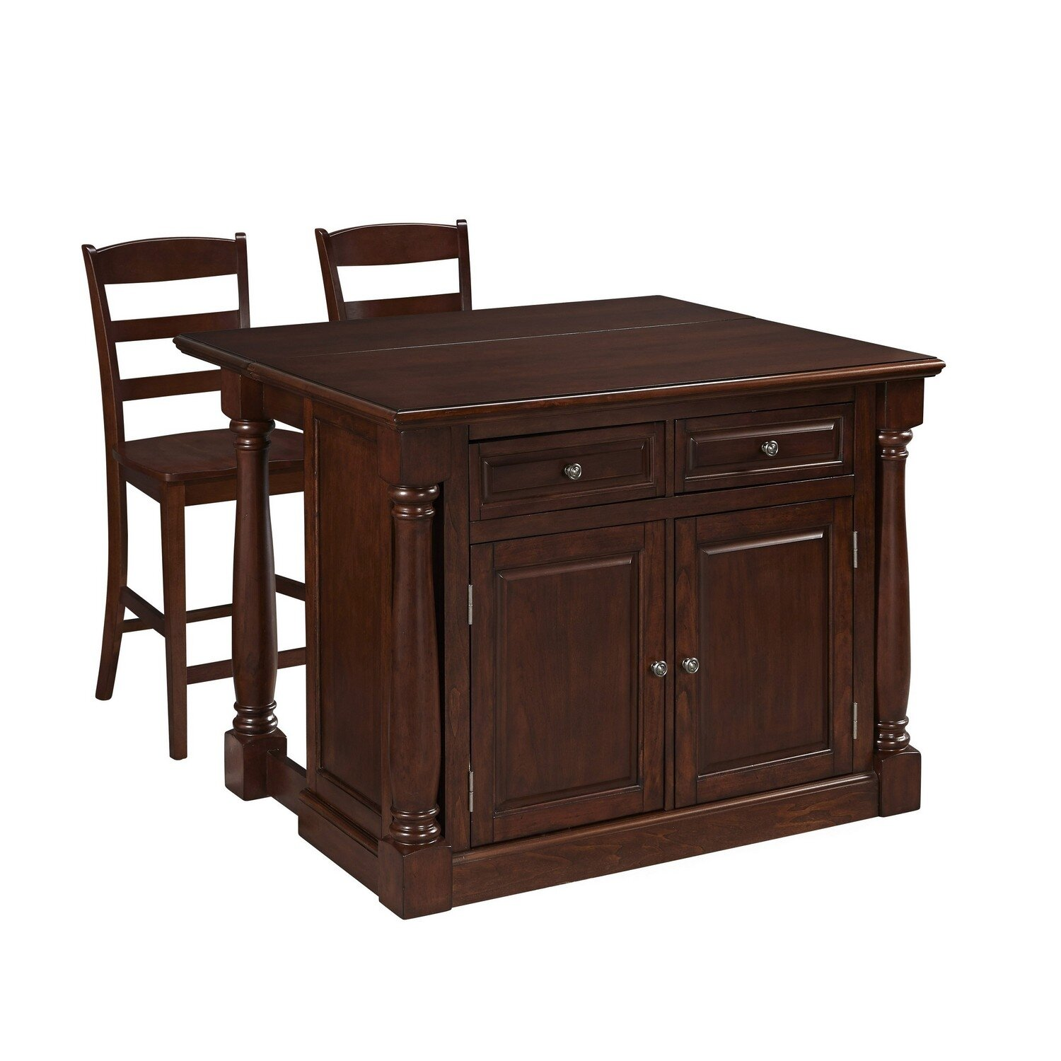 shyanne kitchen island set birch lane