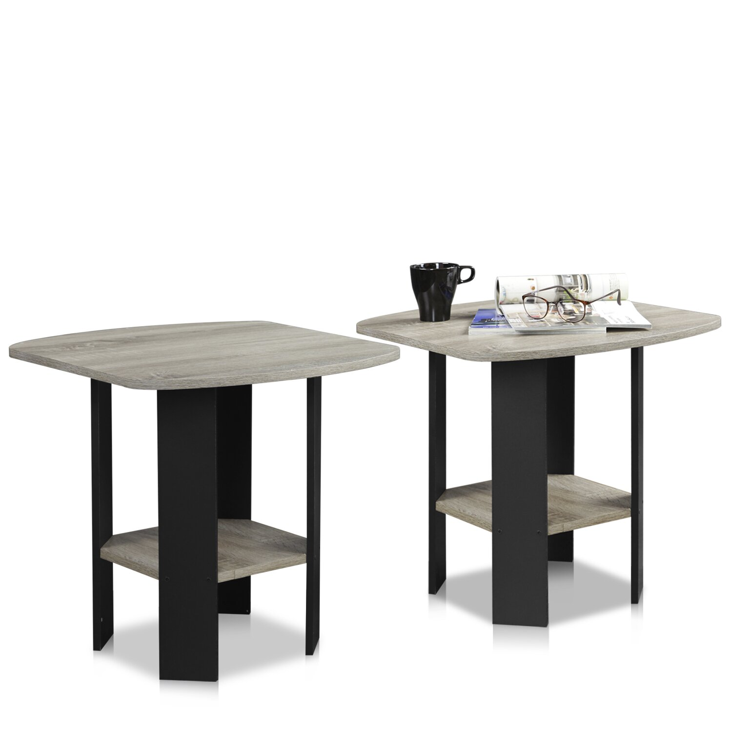Furinno simple end table reviews wayfair for Simple end table