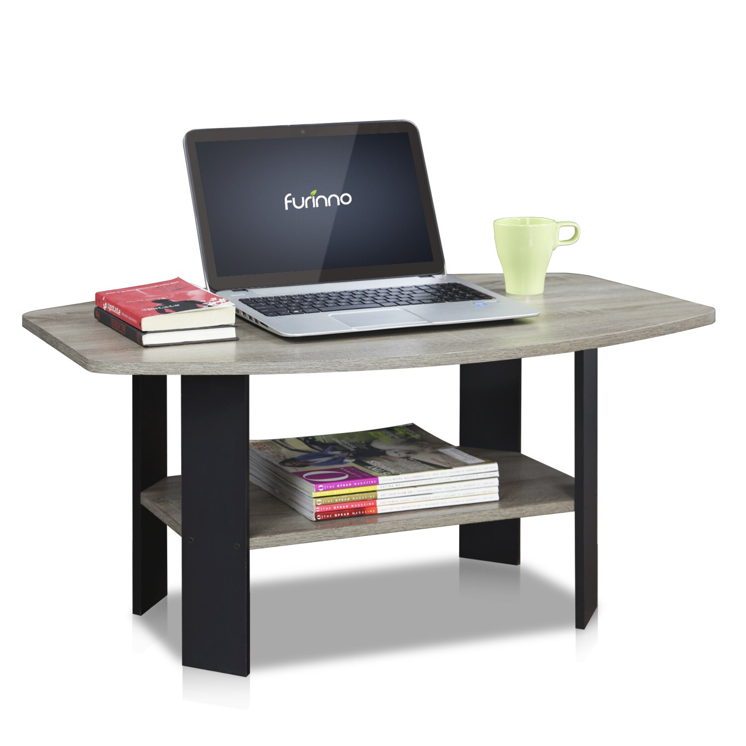 Simple Coffee Table - Furinno Simple Coffee Table & Reviews Wayfair