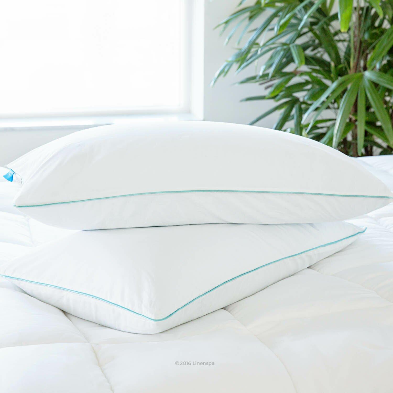85%OFF Natural fort Deluxe Silk Pillow Standard Bed Pillows
