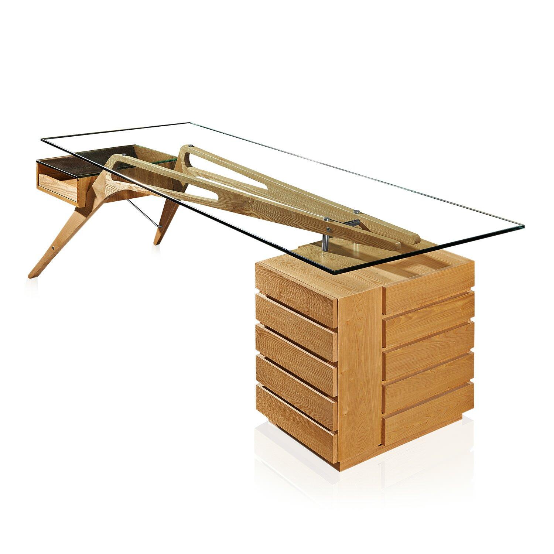 Kardiel Protractor Computer Desk Amp Reviews Wayfair