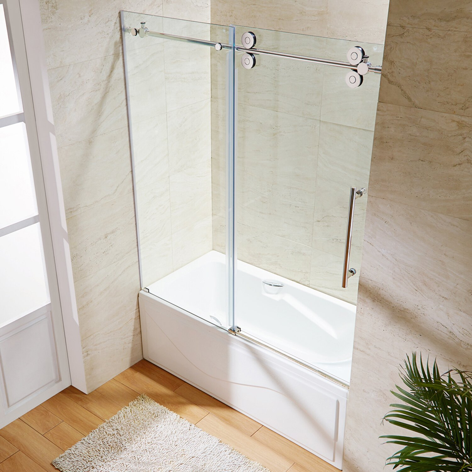 VIGO Elan X Single Sliding Frameless Tub Door Reviews 66 tub shower  comboShower Bathtub Combinations 66 Breathtaking Project For Tub Shower66 Tub Shower Combo  Tub and Shower One Piece  99 Small Bathroom  . 60 Tub Shower Combo. Home Design Ideas
