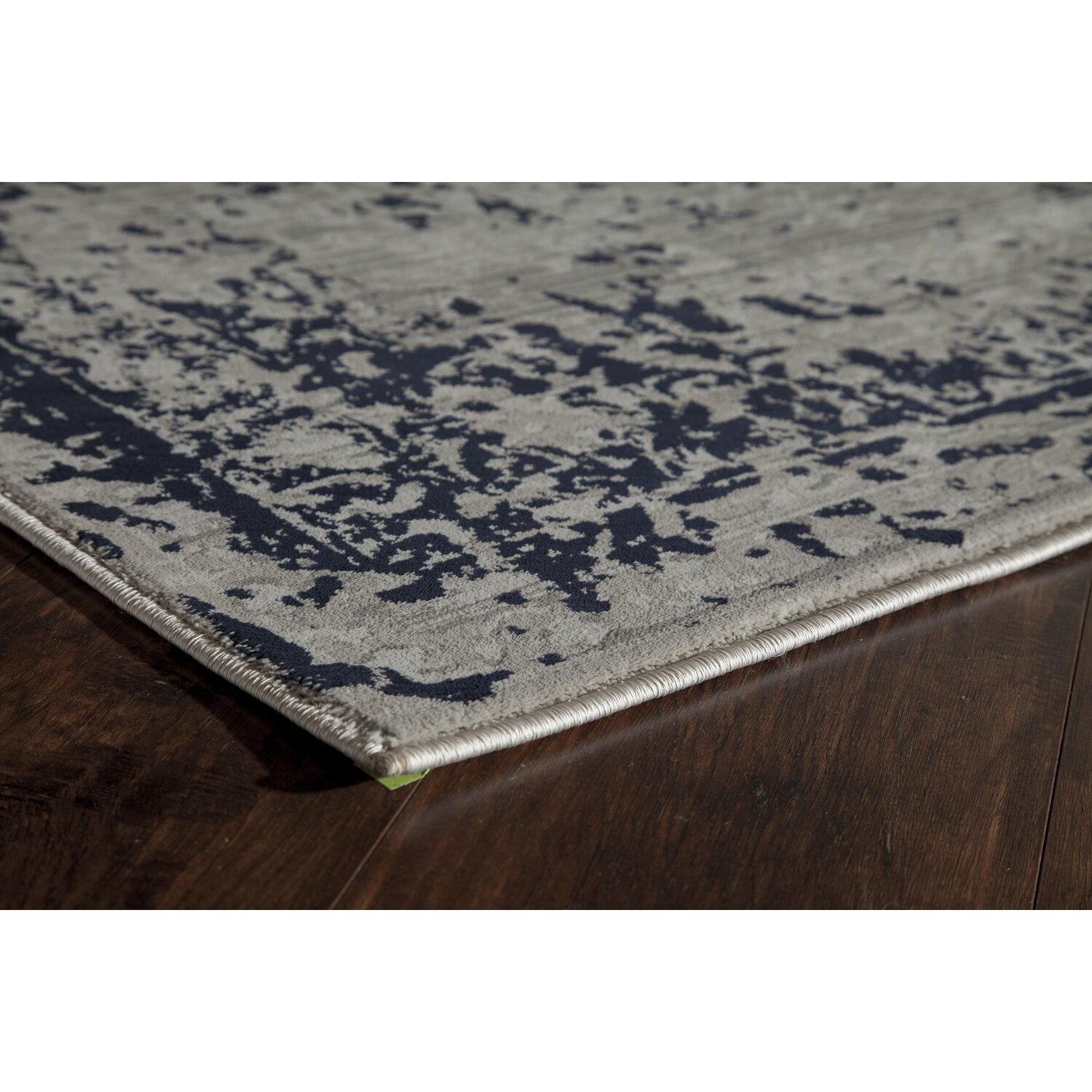 the conestoga trading co navy blue white area rug reviews. Black Bedroom Furniture Sets. Home Design Ideas
