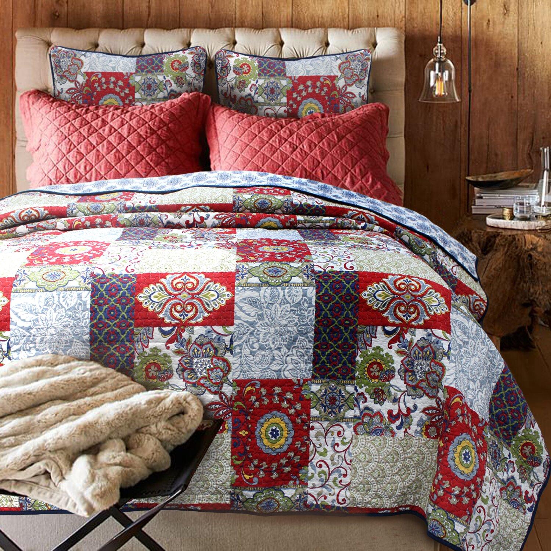 Cozy Line Home Fashion Vintage Cotton Quilt Set Amp Reviews