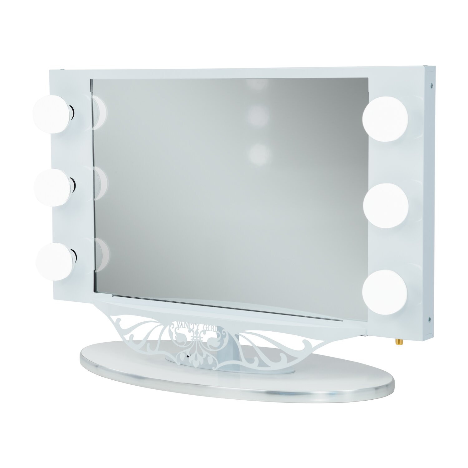 Starlet Lighted Vanity Mirror Reviews : Vanity Girl Hollywood Starlet Lighted Vanity Mirror & Reviews Wayfair