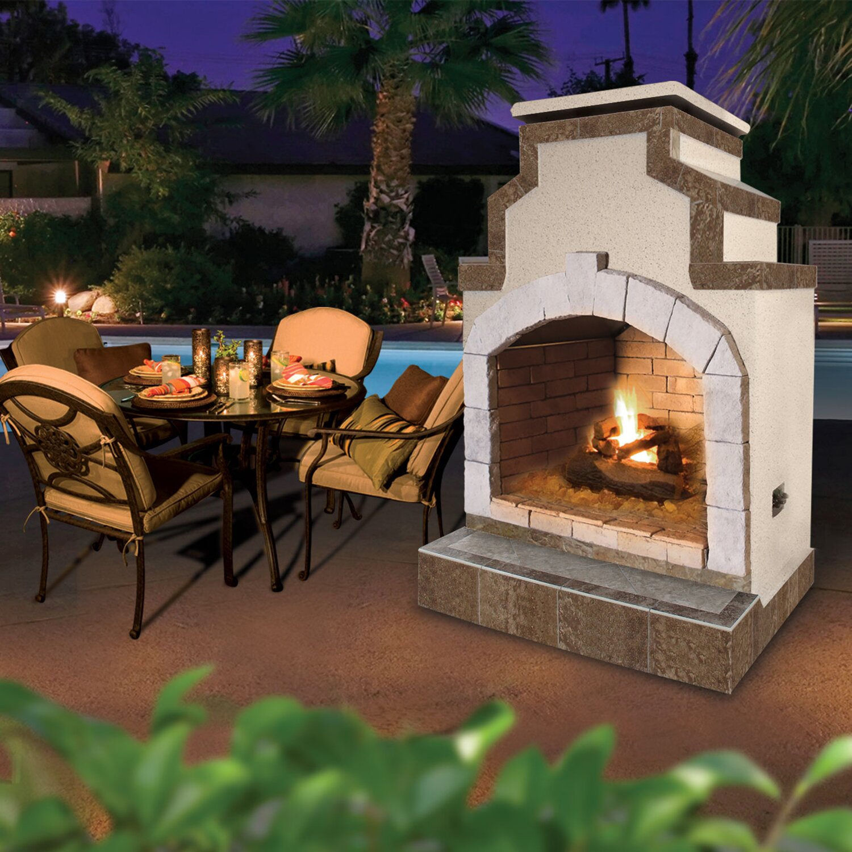 propane gas outdoor fireplace home decorating interior design