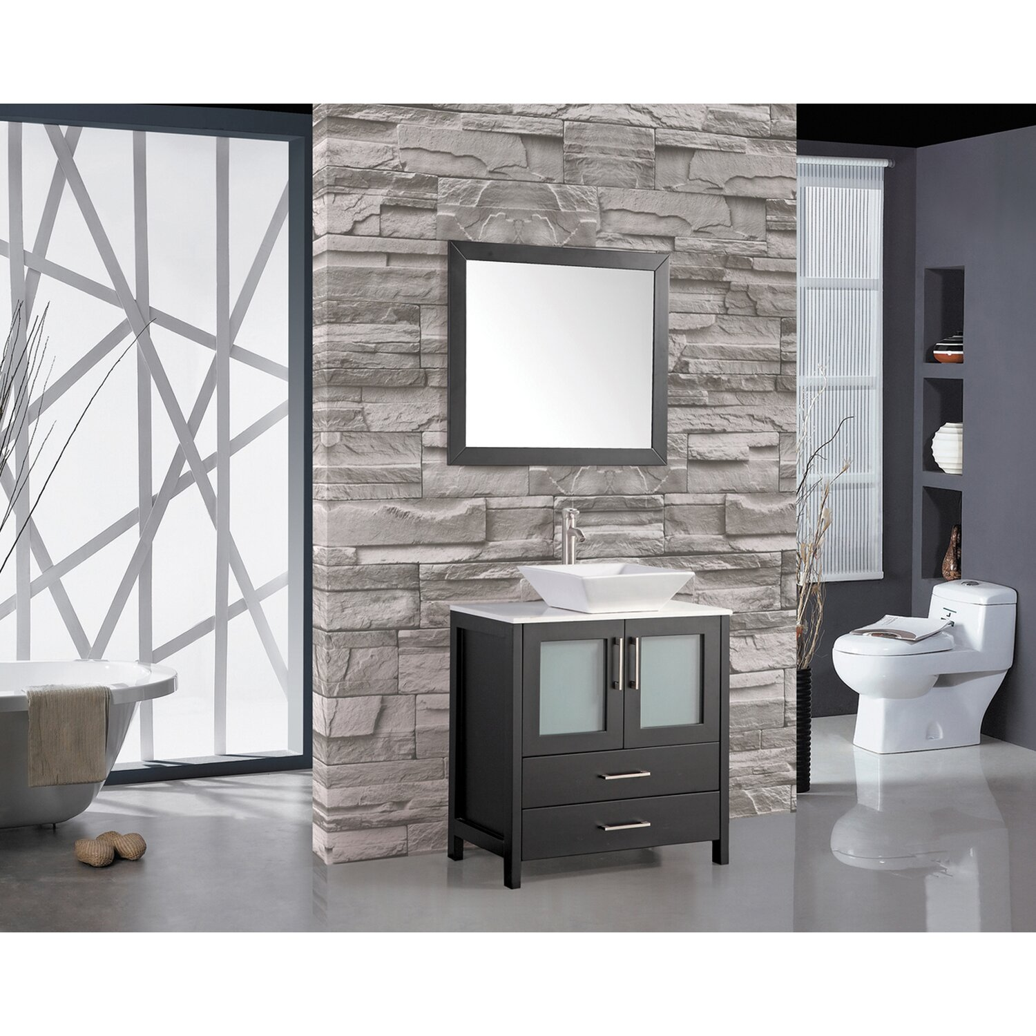 Wade Logan Brodsky 30 Quot Single Sink Bathroom Vanity Set