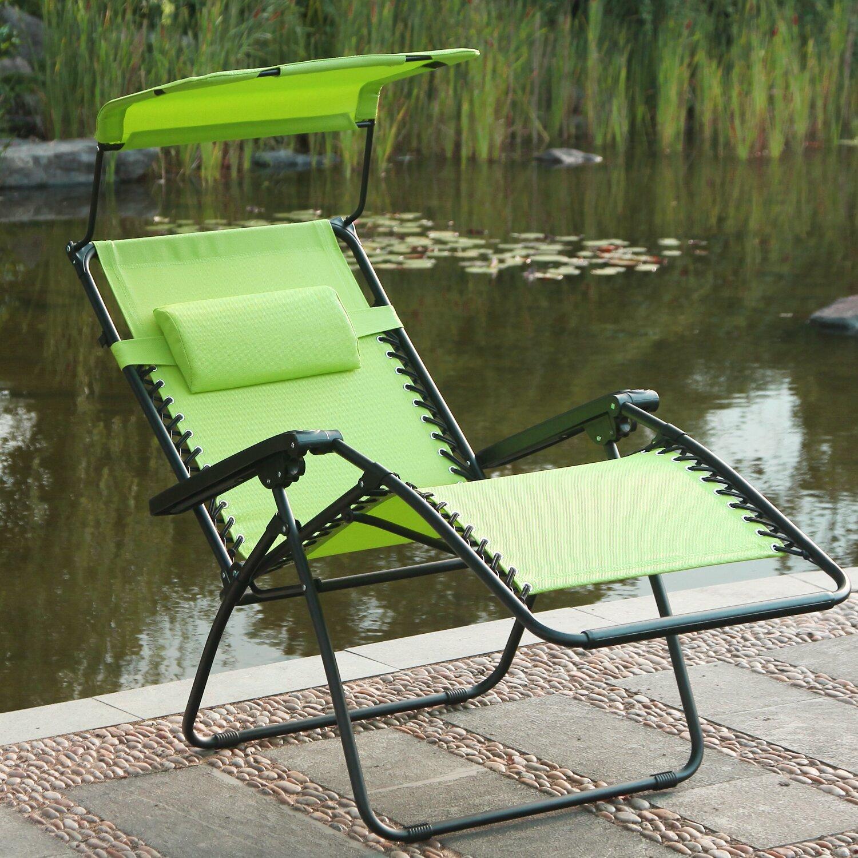 Adecotrading Reclining Zero Gravity Chair Amp Reviews Wayfair