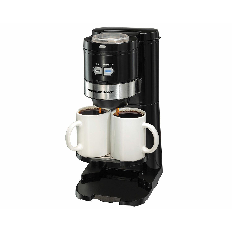Hamilton Beach Grind and Brew Single-Serve Coffee Maker & Reviews Wayfair