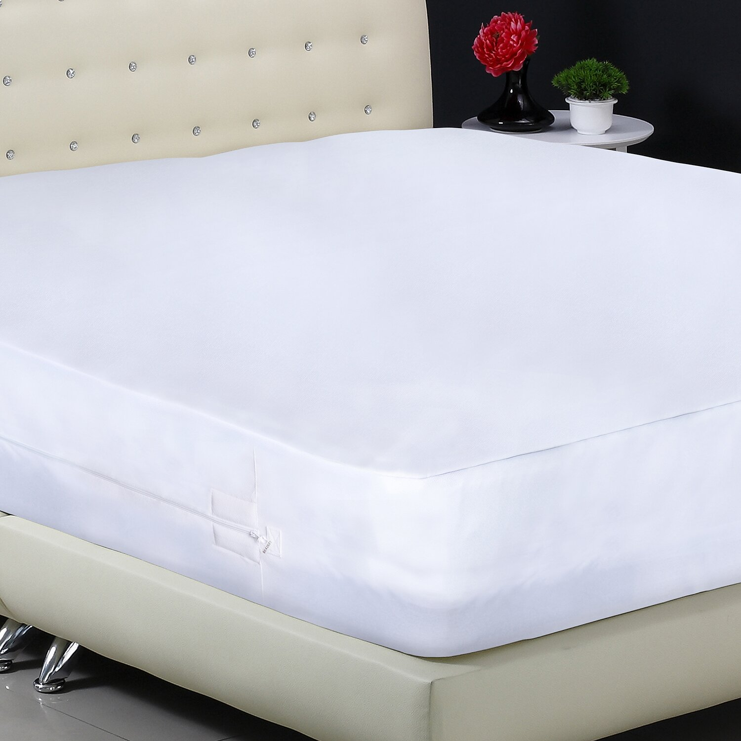 Protect a bed aller zip smooth anti allergy and bed bug for Bed bug resistant mattress