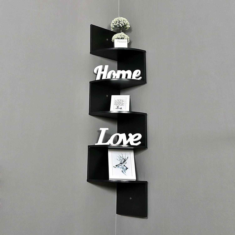 Welland industries llc large 5 tiers corner wall shelf for Abanos furniture industries decoration llc
