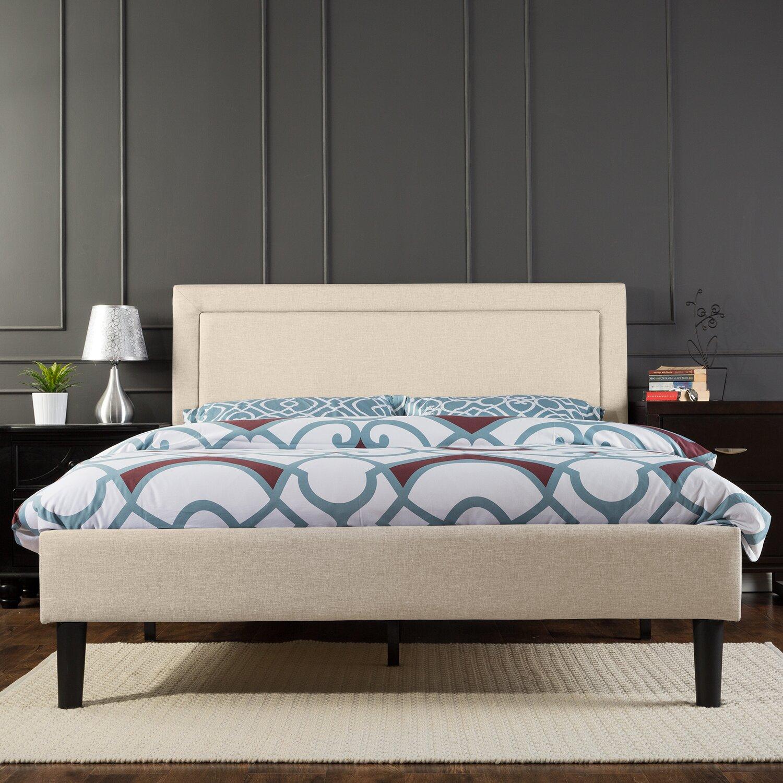 Winston Porter Mariel Upholstered Platform Bed Amp Reviews