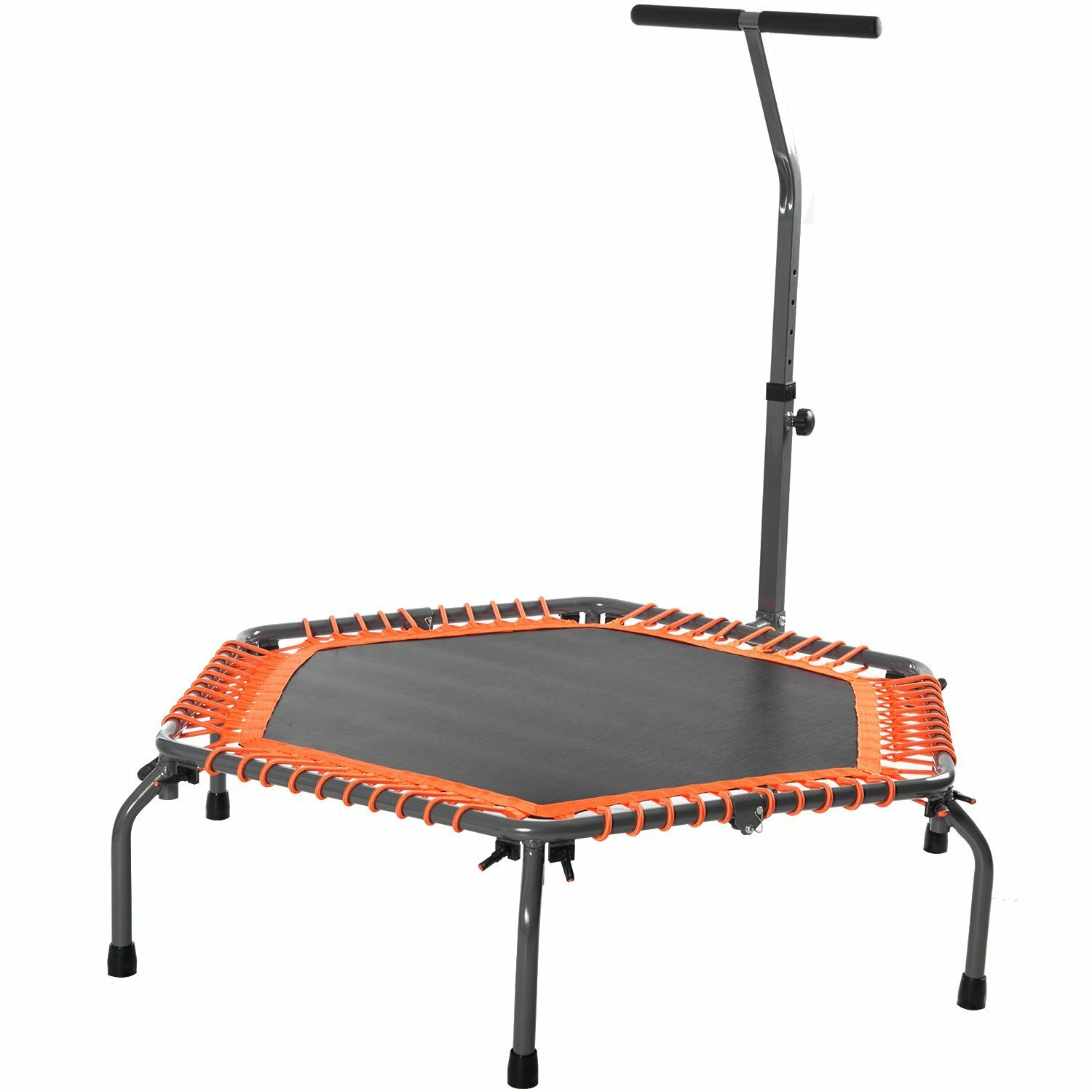 Merax 4.5' Exercise Fitness Trampoline With Safety