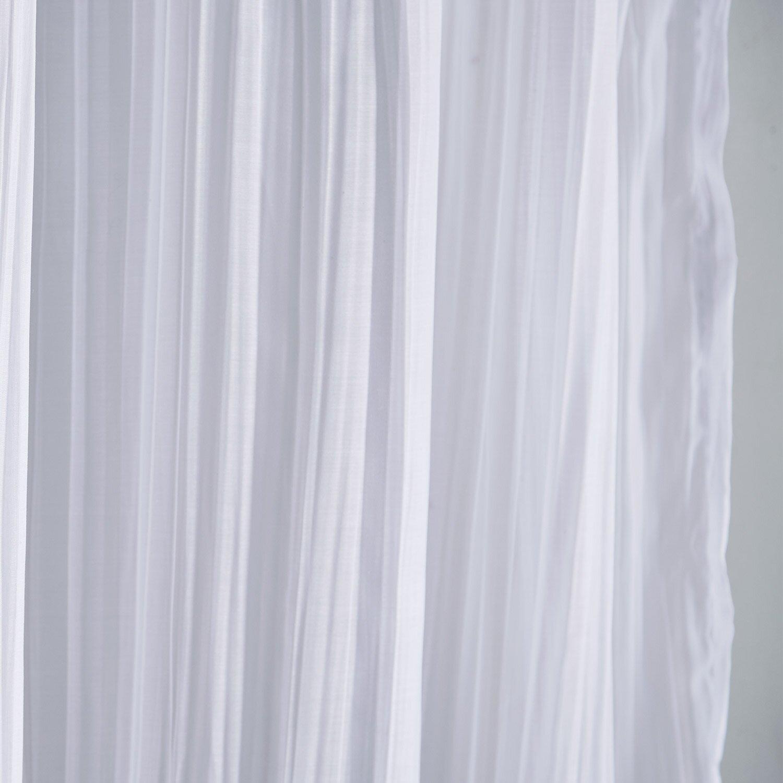 Cameron Sheer Tab Top Single Curtain Panel & Reviews