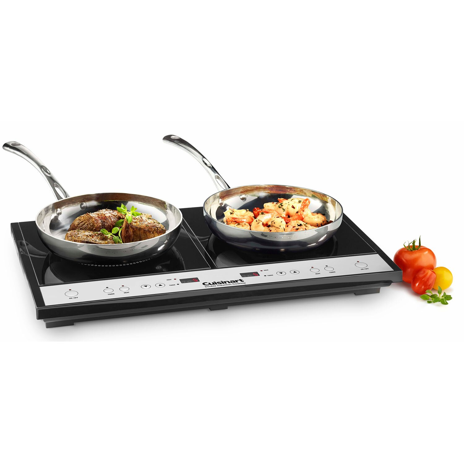 Double Induction Burner for Countertop Use | AllModern