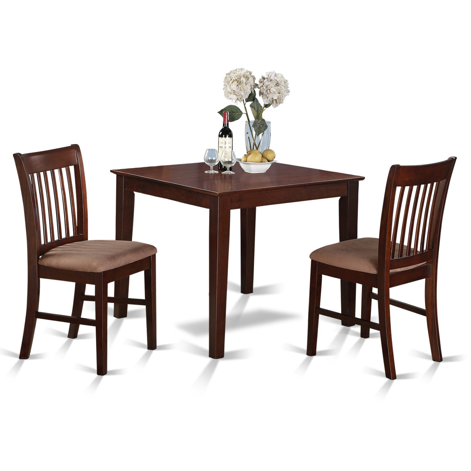 3 Piece Kitchen Nook Dining Set Small Kitchen Table And 2: Alcott Hill Lennox 3 Piece Dining Set & Reviews