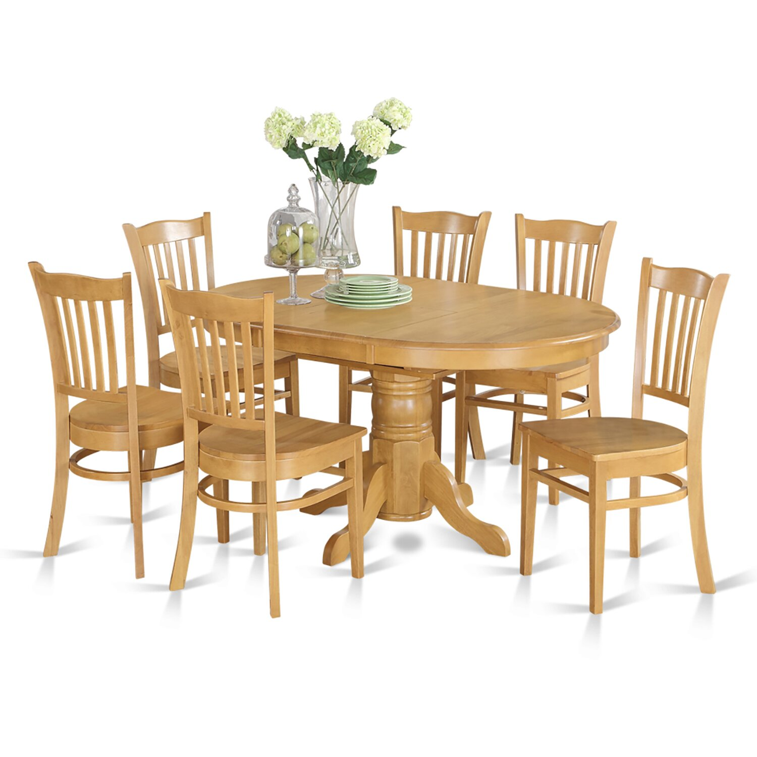 7 Piece Dining Set ~ Darby home co attamore piece dining set reviews