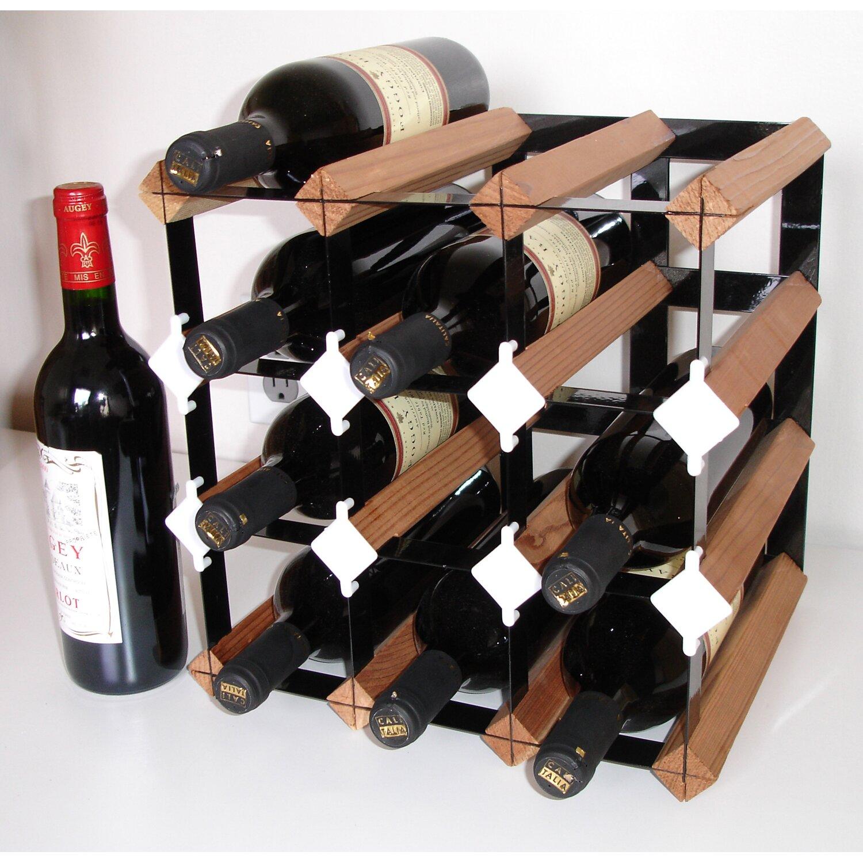 tabletop wine rack - vinotemp cellar trellis bottle tabletop wine rack reviews