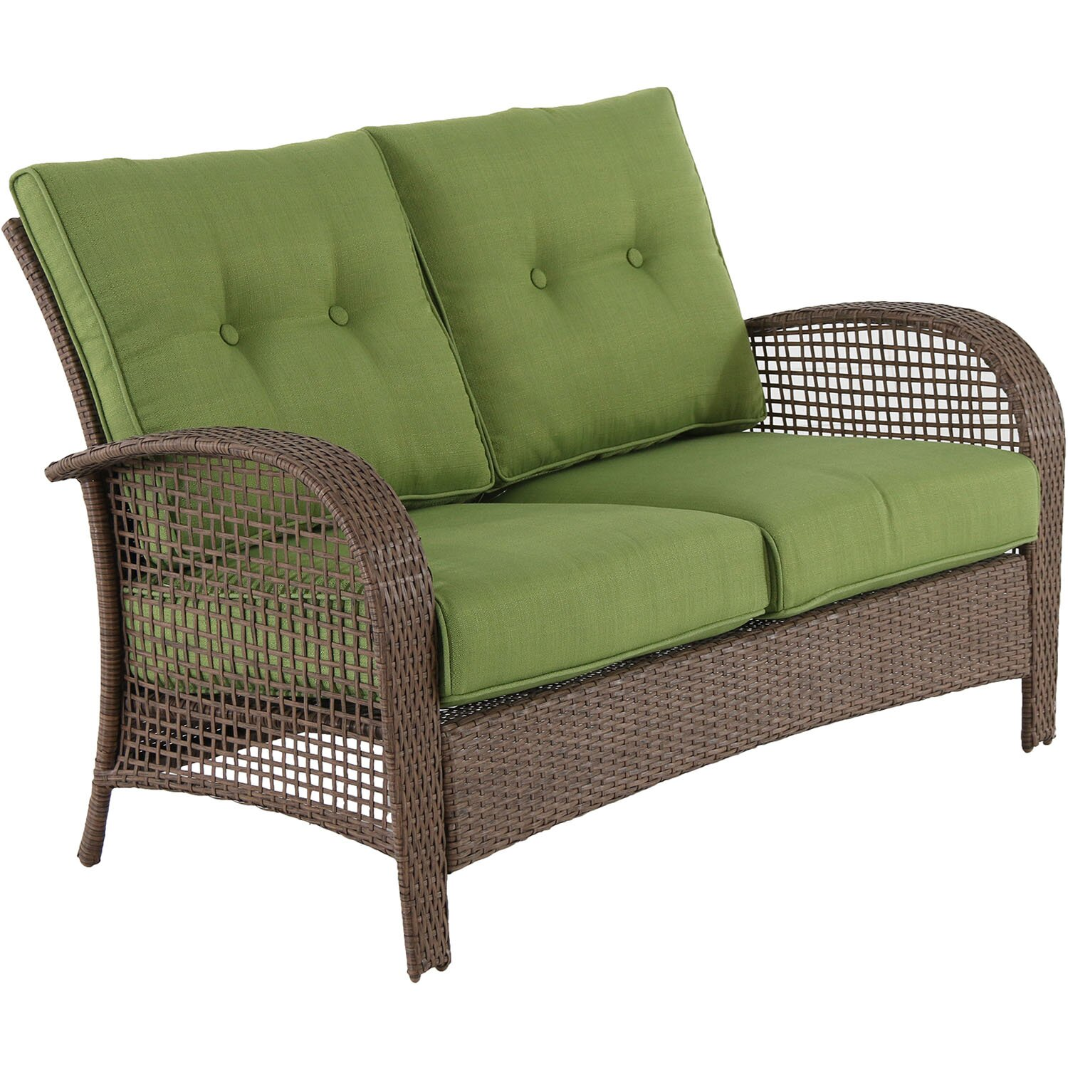 Annagrove Steel Wicker 4 Piece Deep Seating Group With