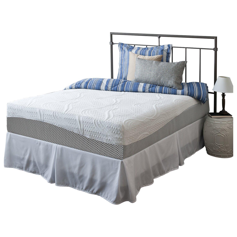 12 firm memory foam mattress reviews allmodern. Black Bedroom Furniture Sets. Home Design Ideas