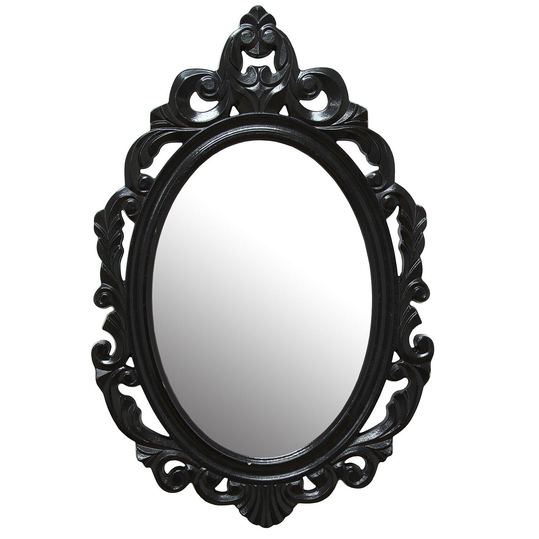 House of hampton accent baroque oval wall mirror reviews for Baroque mirror canada