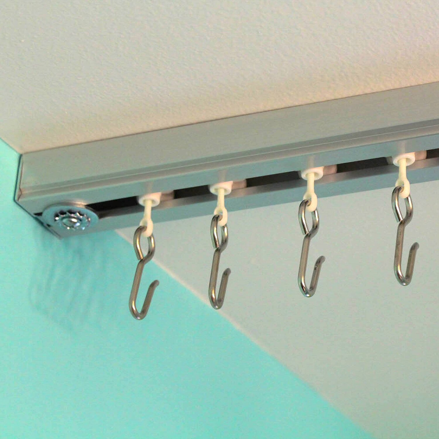 Curtain room dividers track - Curtain Track Set