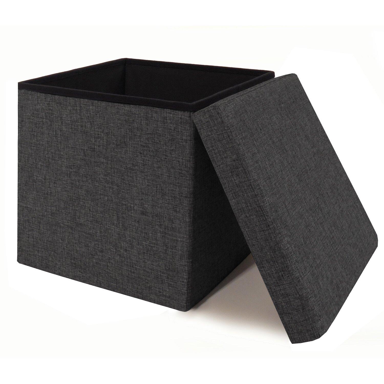 Magnifying glass. Previous. Zosia Foldable Storage Foot Stool Cube Ottoman  ... - Zipcode™ Design Zosia Foldable Storage Foot Stool Cube Ottoman
